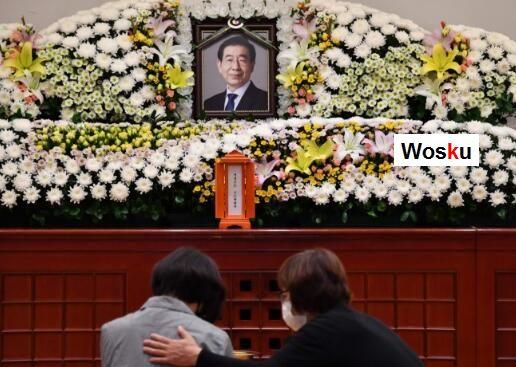 首尔市长朴元淳自杀轻生 文在寅等政要吊唁致意
